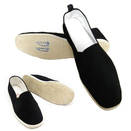 Takto vypadají boty na Taiji (Tai chi).